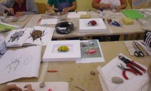 Herstellung Käferrumpf Keramikkurs