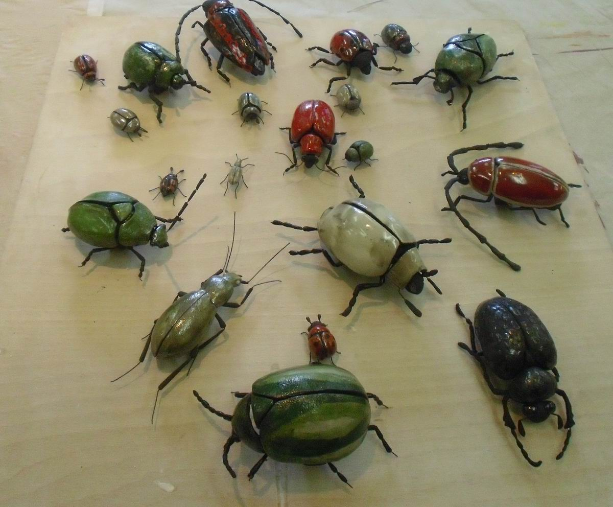 insekteninvasion in der kunstwerkstatt bad saarow cta. Black Bedroom Furniture Sets. Home Design Ideas