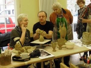 06  Keramikkurs mit Andreas Hinder - spezielle Tipps an einem kleineren Objekt