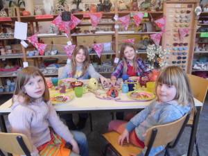 Keramikwerkstatt Kindergeburtstag